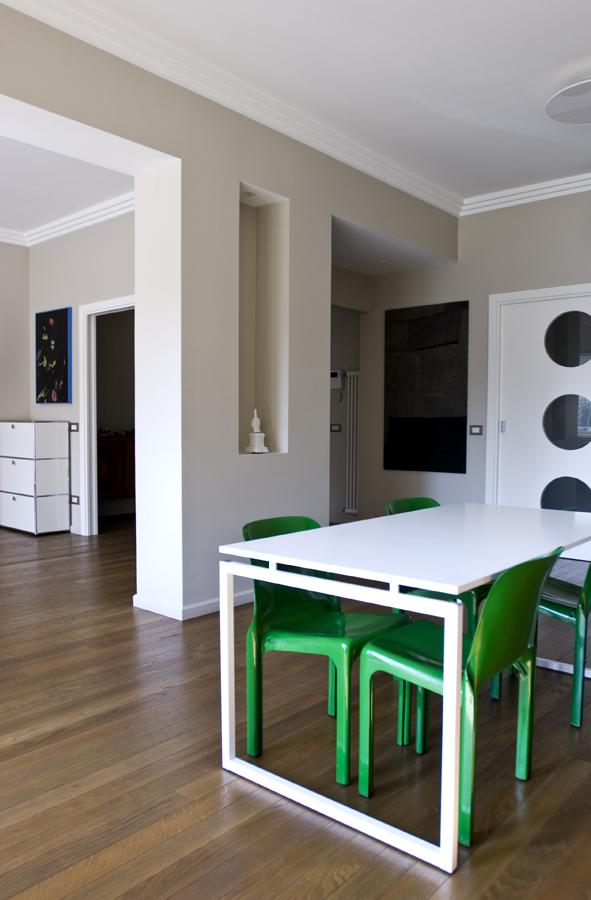 Ristrutturazione appartamento della Vittoria GC Open space