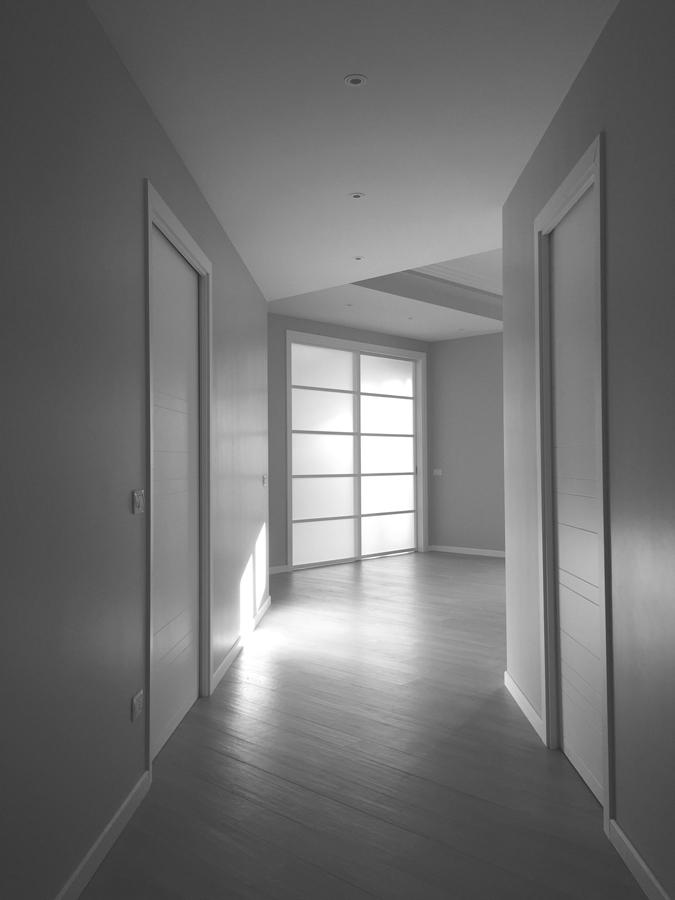 Ristrutturazione appartamento Nomentano DM ingresso