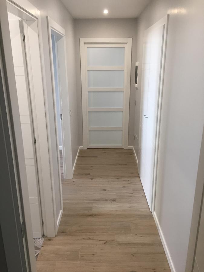 Ristrutturazione appartamento Prati FC1 corridoio