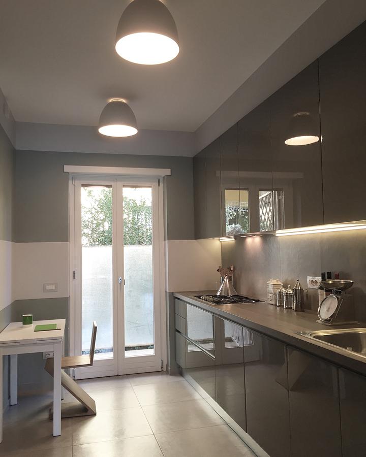 Ristrutturazione appartamento della Vittoria GC Cucina