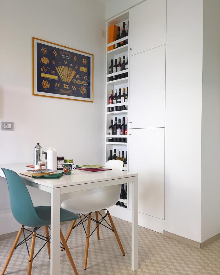 Ristrutturazione appartamento della Vittoria FC Cucina