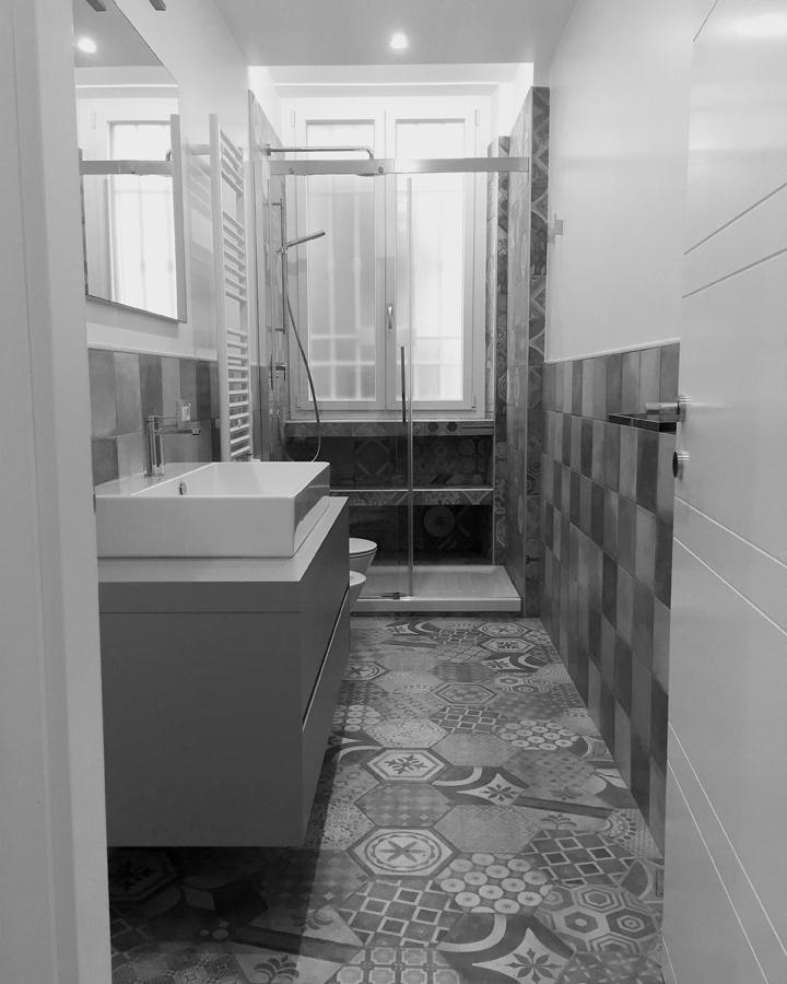 Ristrutturazione appartamento Prati FC1 bagno