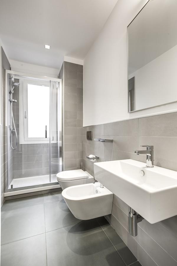 Ristrutturazione appartamento della Vittoria FC bagno