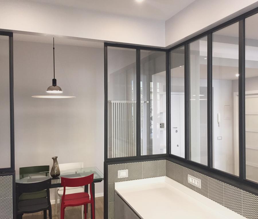 Ristrutturazione appartamento Prati FC1 cucina