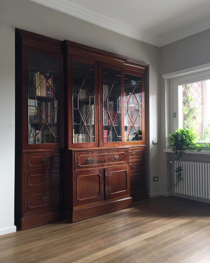 Ristrutturazione appartamento della Vittoria GC mobile antico