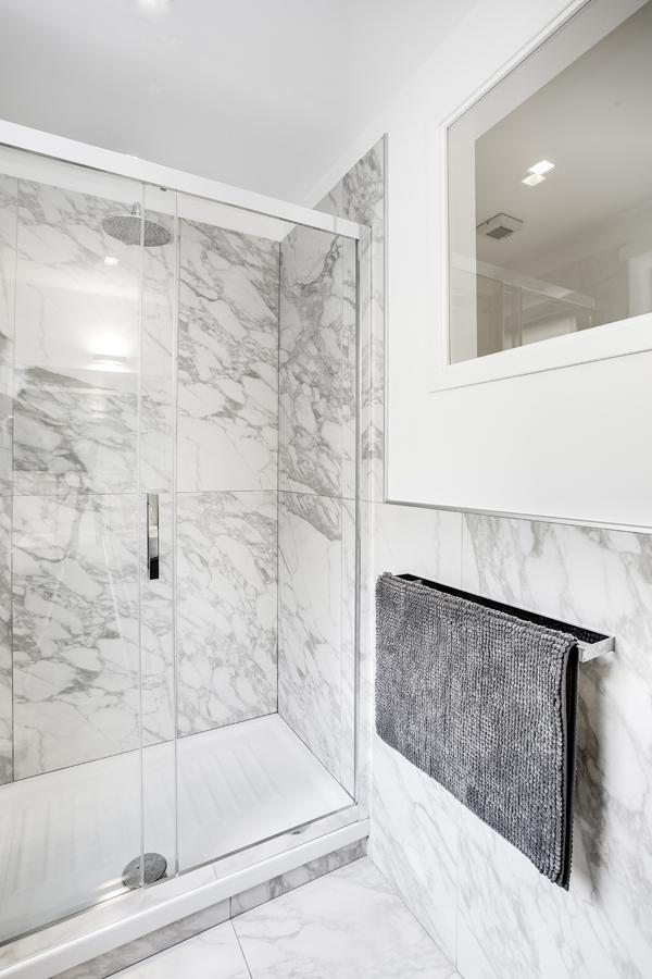 Ristrutturazione appartamento della Vittoria FC bagno doccia
